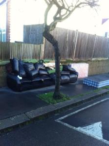 Fly tip Hatch Road