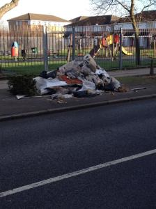 Fly tip Stanford Road