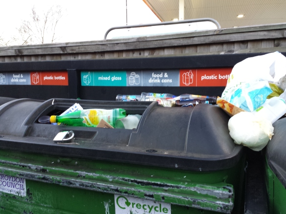 Sanderstead recycling bins