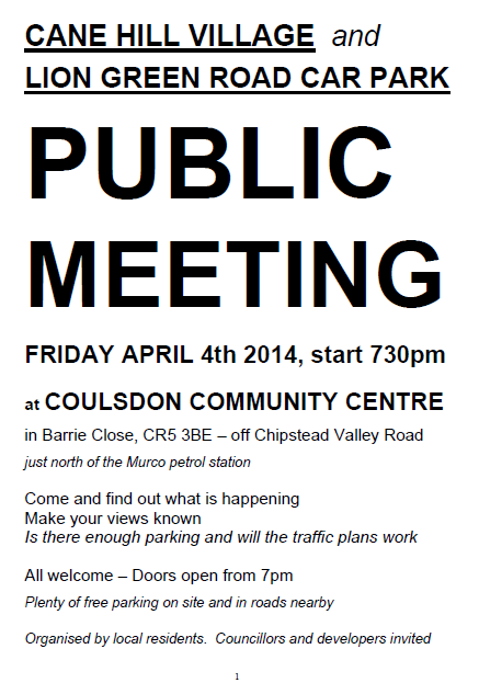 Public Meeting 4 April 14