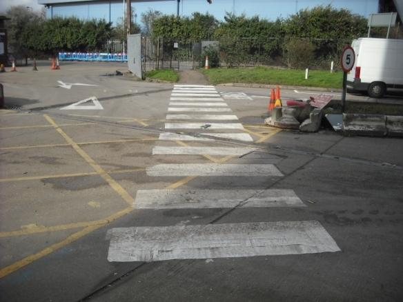 Pedestrian access Factory Lane HRRC