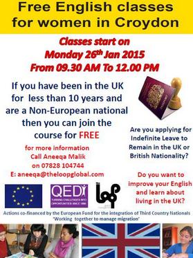 English classes 26Jan15