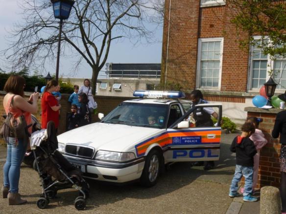 UNT police car