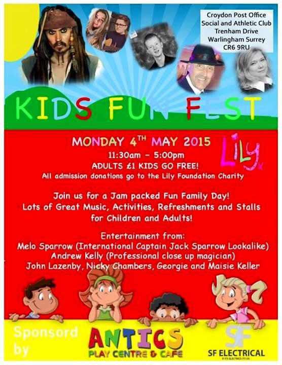 Kids Fun Fest 4 May 15
