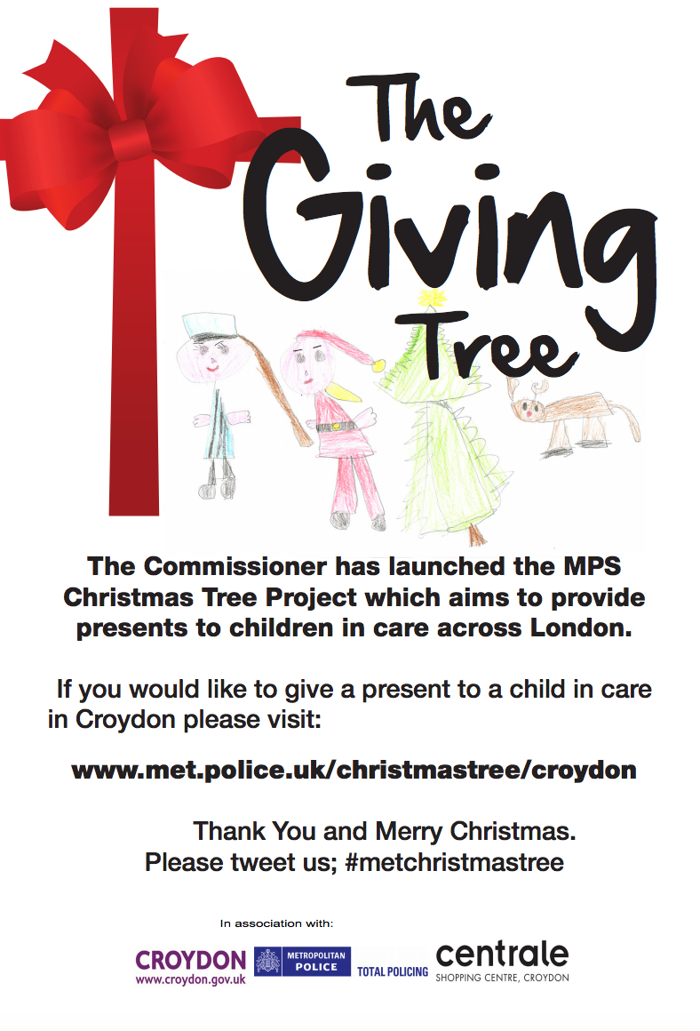 Met Police Christmas Tree Project – Could you donate a gift for a ...