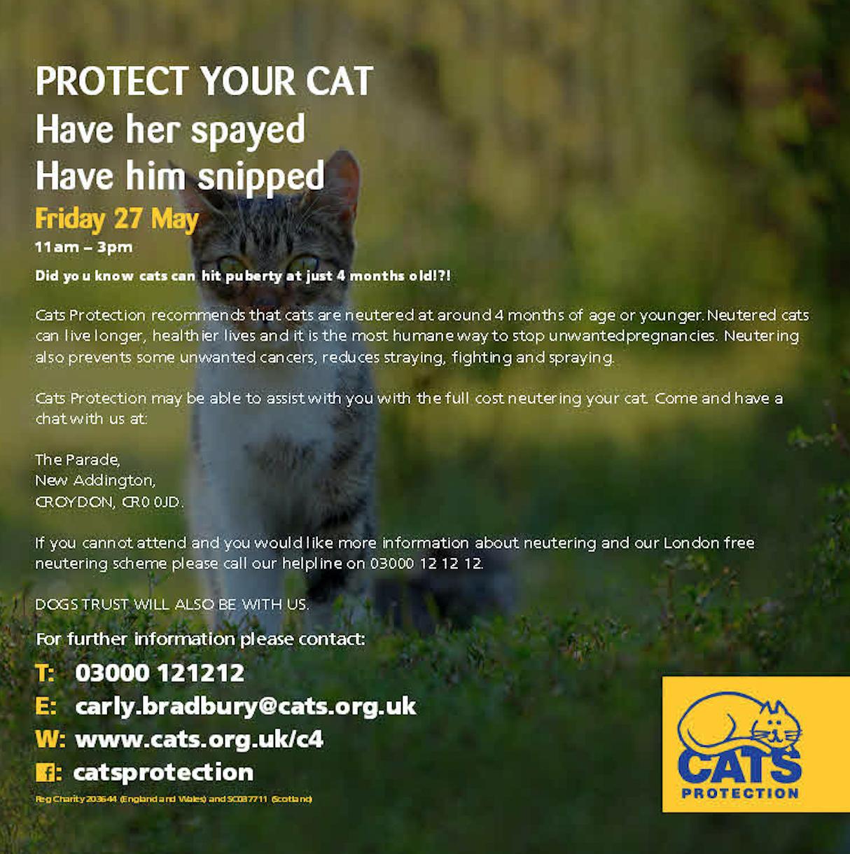 East Croydon Cats Protection