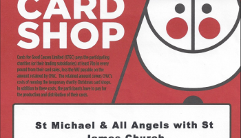 multi charity christmas card shop open until 14 december 2016 in st michaels church hall - Christmas Cards For Charity 2017